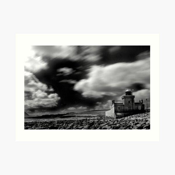 Blacksod Point in County Mayo, Ireland. Art Print