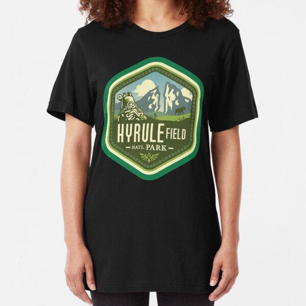 Hyrule Field National Park Slim Fit T-Shirt