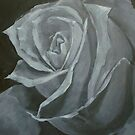 stone rose by Carole Russell