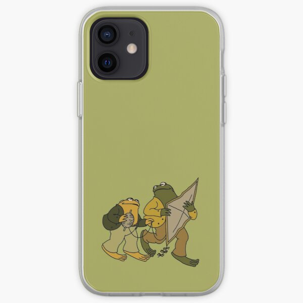 Frog and Toad iPhone Soft Case