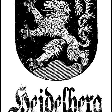 The 3-Tailed Lion of Heidelberg by FORESTKAT