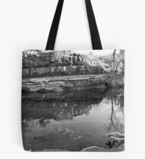 Pathway to the Emerald forrest Tote Bag