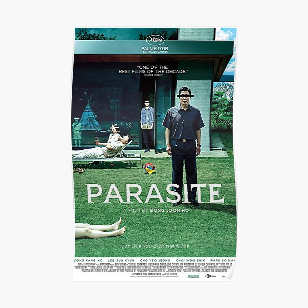 Parasite Movie Poster Glossy High Quality Poster