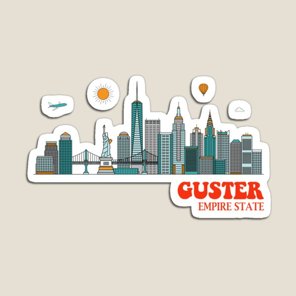 Guster - Empire State Magnet