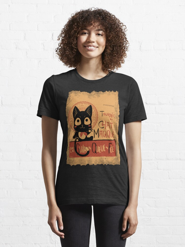 Alternate view of Le Chat Magique Essential T-Shirt