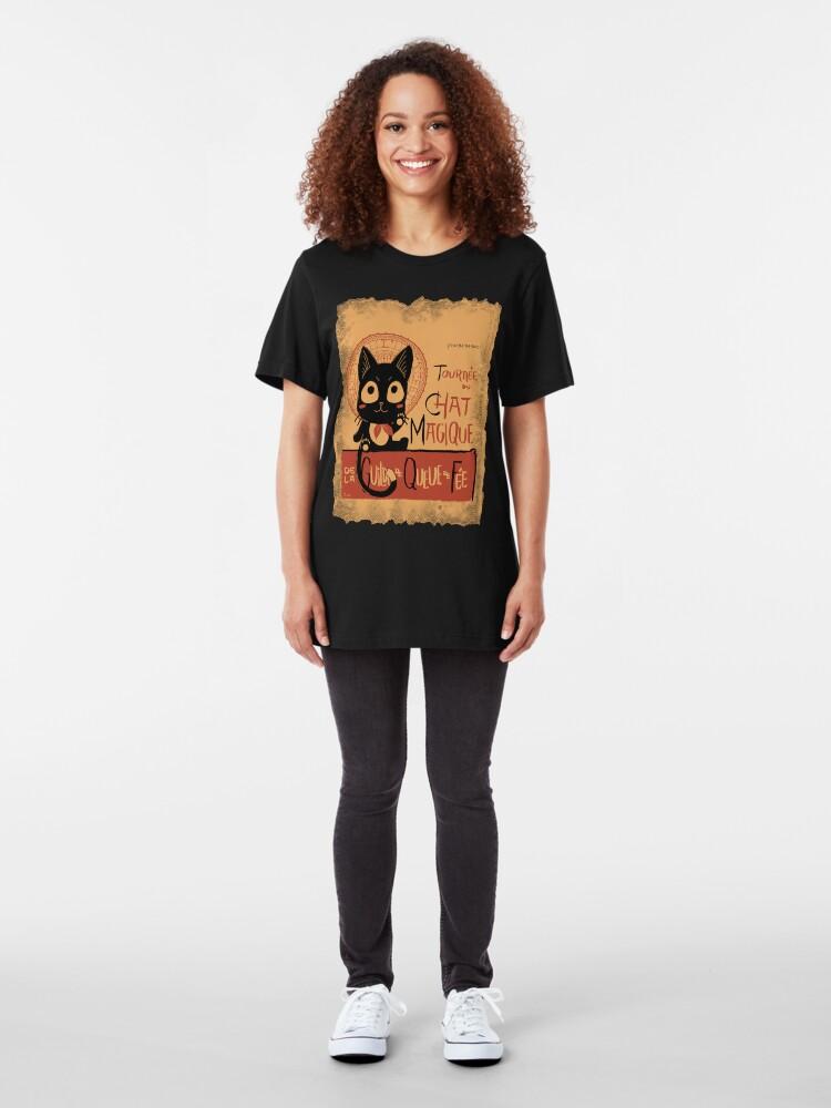 Alternate view of Le Chat Magique Slim Fit T-Shirt