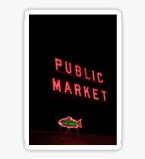 Pike Place Market Sticker