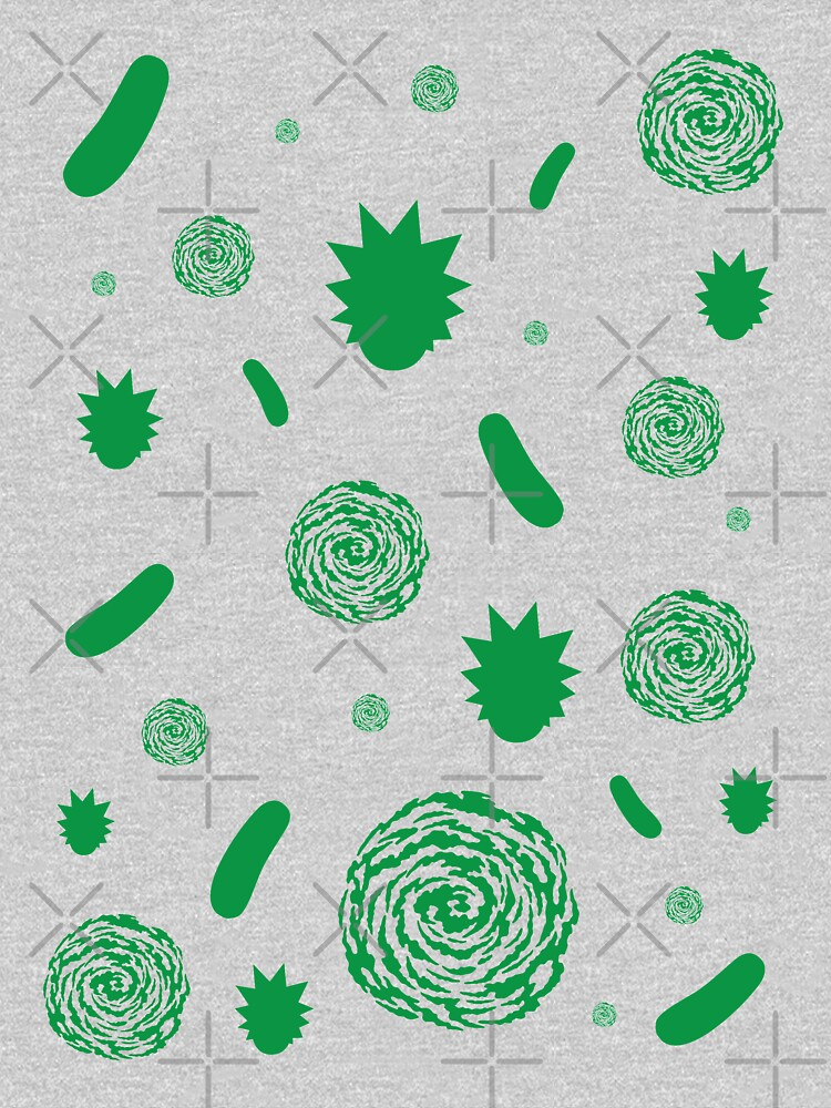 Rick and Morty Pattern by rainbowdreamer