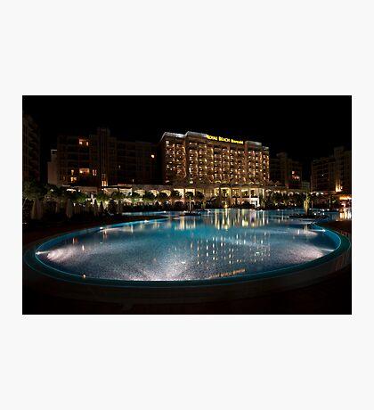 Barcelo Royal Beach Hotel - Sunny Beach, Bulgaria. Photographic Print