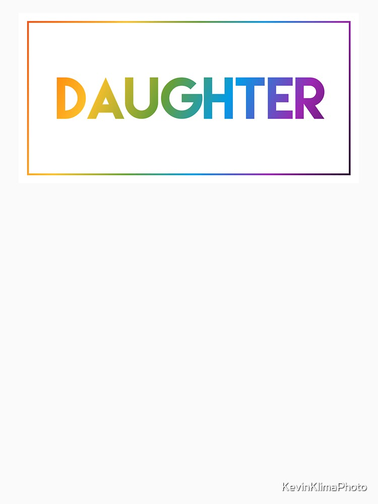Daughter - Pride Edition by KevinKlimaPhoto