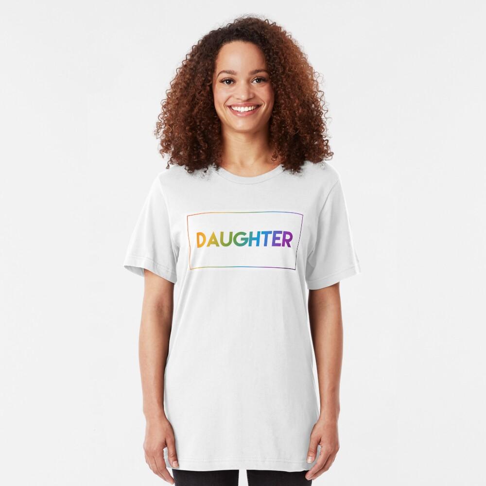 Daughter - Pride Edition Slim Fit T-Shirt
