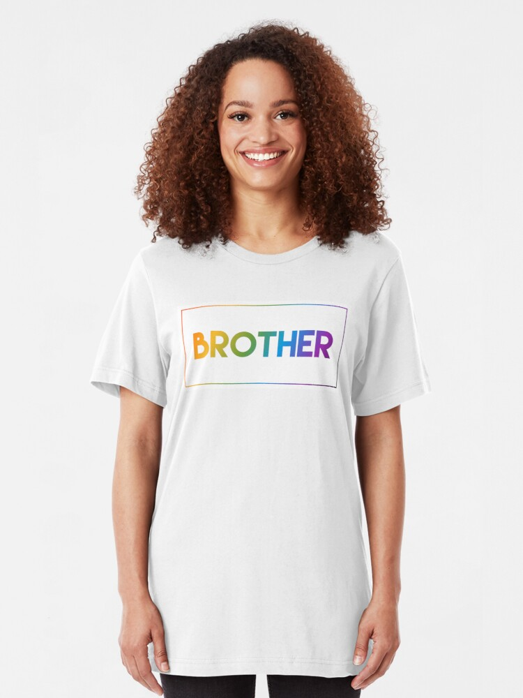 Alternate view of Brother - Pride Edition Slim Fit T-Shirt