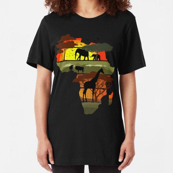 Afrika Slim Fit T-Shirt
