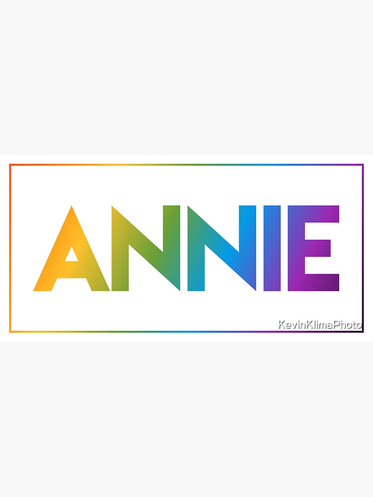 Annie - Pride Edition by KevinKlimaPhoto