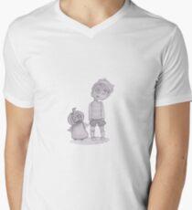 button boy and pumpkin kid T-Shirt