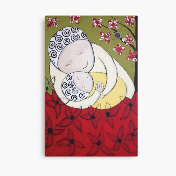 Mum and Bub Canvas Print