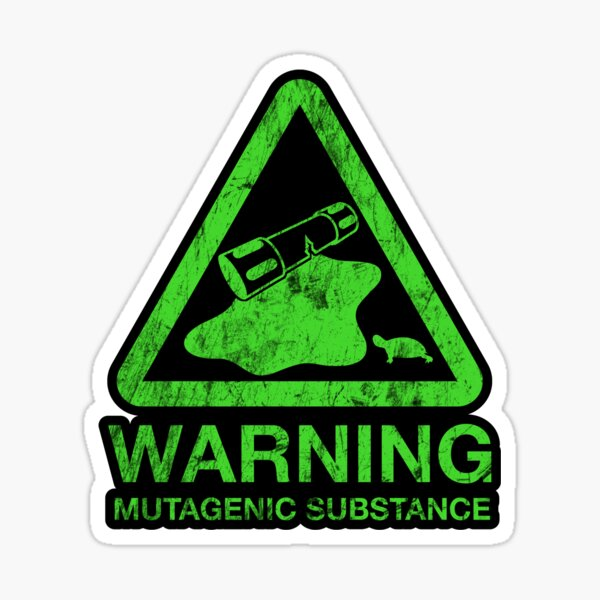 Sticker! The Danger of the Ooze Sticker