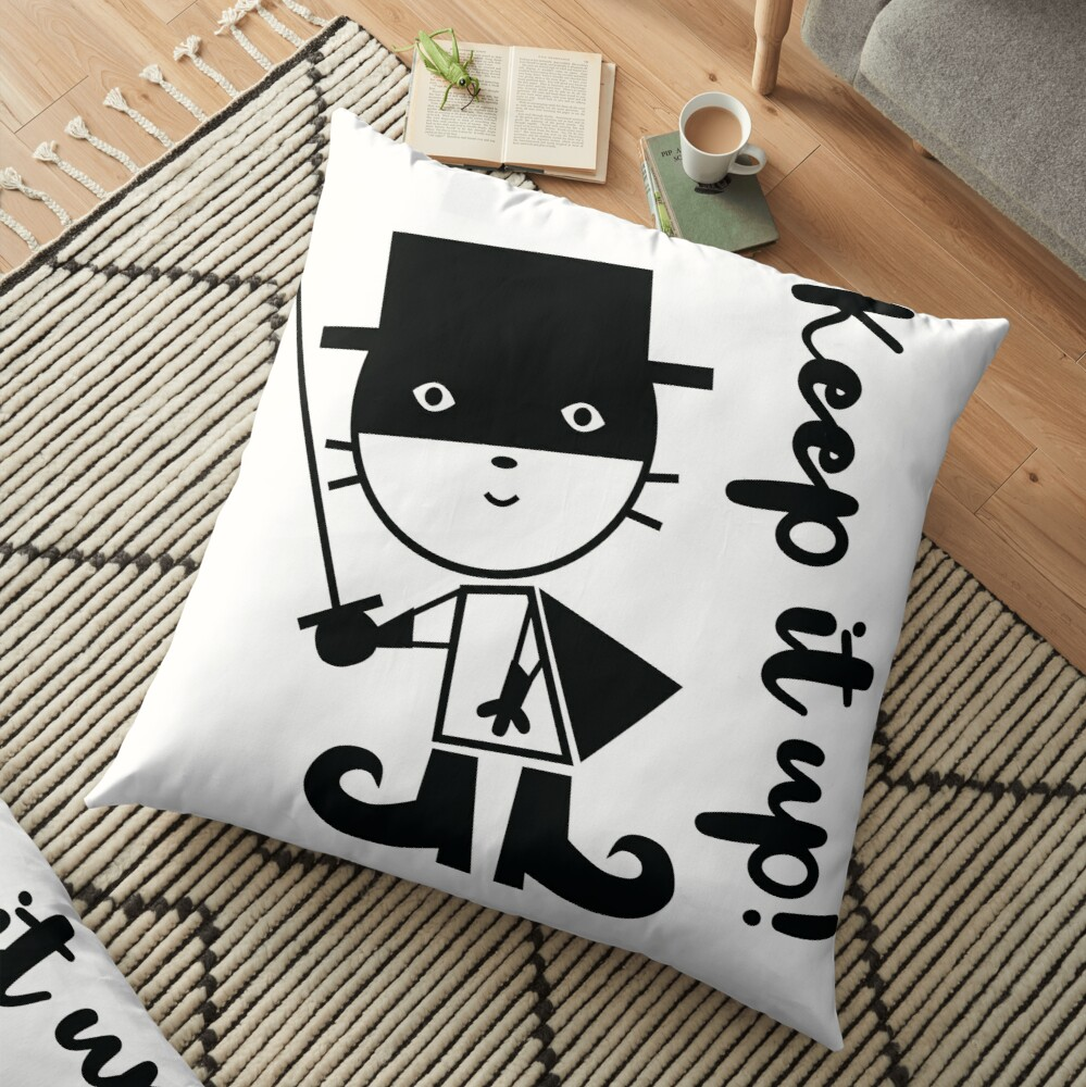 Zorro Floor Pillow
