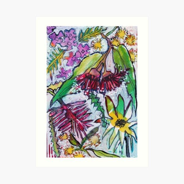 Australian Wildflowers - Kerry Beazley Art Print