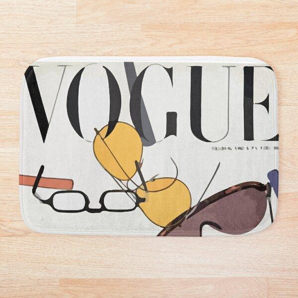 Vogue cover august 1946 Bath Mat
