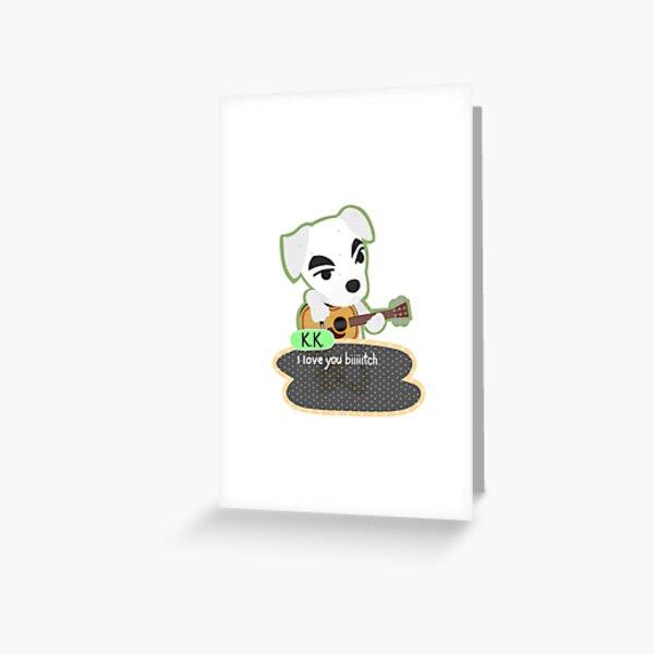 KK Slider Meme Greeting Card