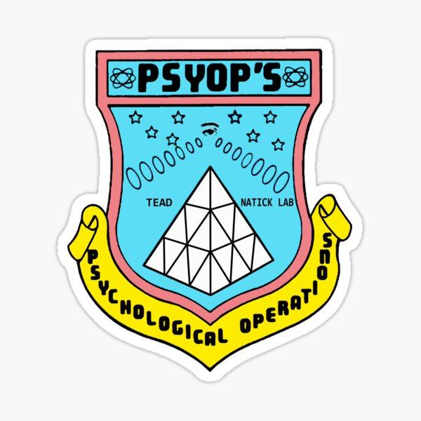 Psychological Operations Sticker