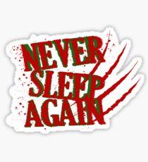 Elm had a Nightmare  Sticker