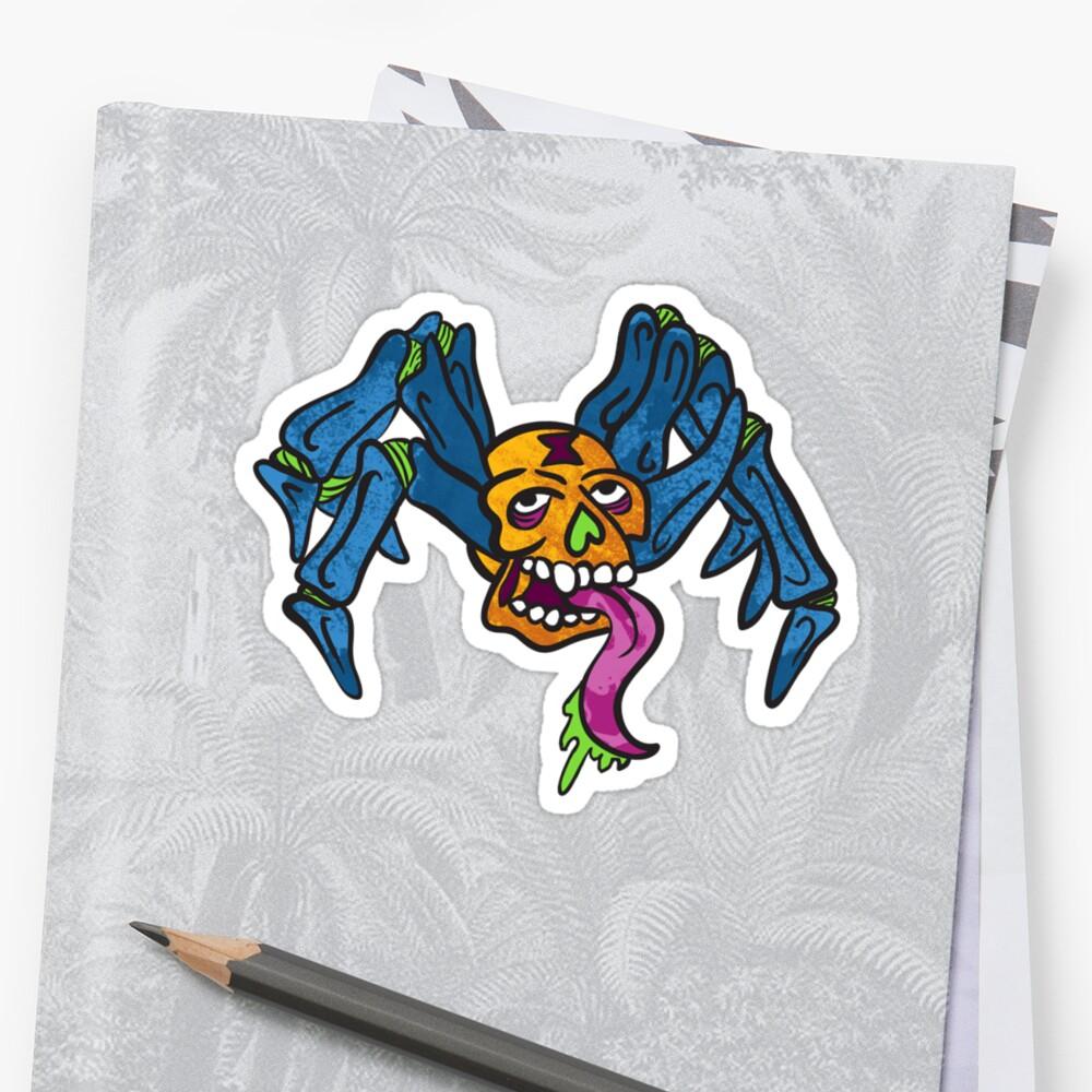 Skull Spider!?!  by SneekoSee