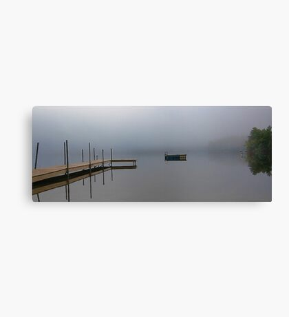 Reflections - Keoka Lake (Early Fall) Canvas Print