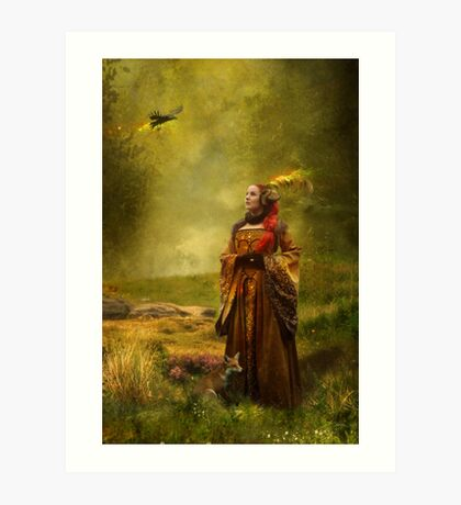 Lady Stark [winter is coming] Art Print