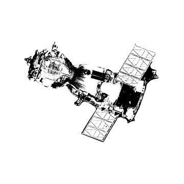 Soyuz Spacecraft by the-chillness