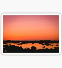 Washington Sunset Sticker