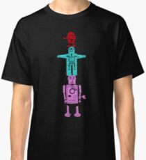 Robot Totem - Color Invert Classic T-Shirt