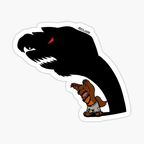 Halloween Monster Delight - Werewolf Sticker