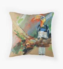 bird-10 Throw Pillow