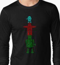 Robot Totem - Color Long Sleeve T-Shirt