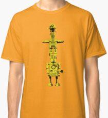 Robot Totem - BiLevel Yellow Classic T-Shirt