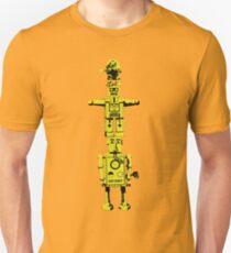 Robot Totem - BiLevel Yellow T-Shirt