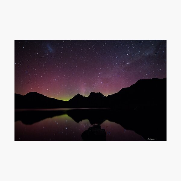 Aurora Australis at Cradle Mountain Photographic Print