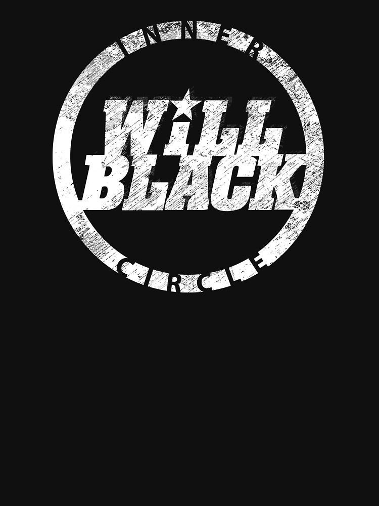 WB Inner Circle WHITE (center ice logo) by will-black