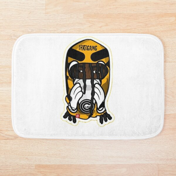 Ski mask - Glo gang Bath Mat