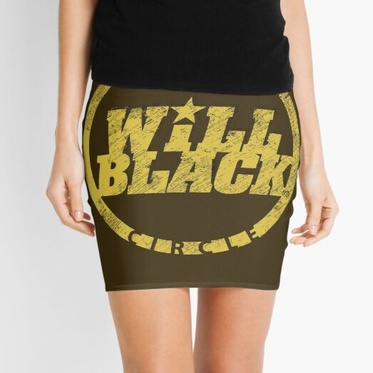 WB Inner Circle GOLD (center ice logo) Mini Skirt