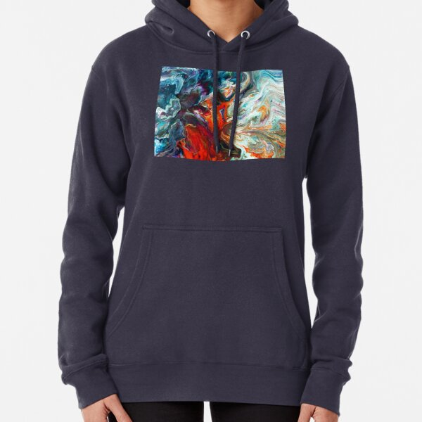 Fire And Water Pullover Hoodie