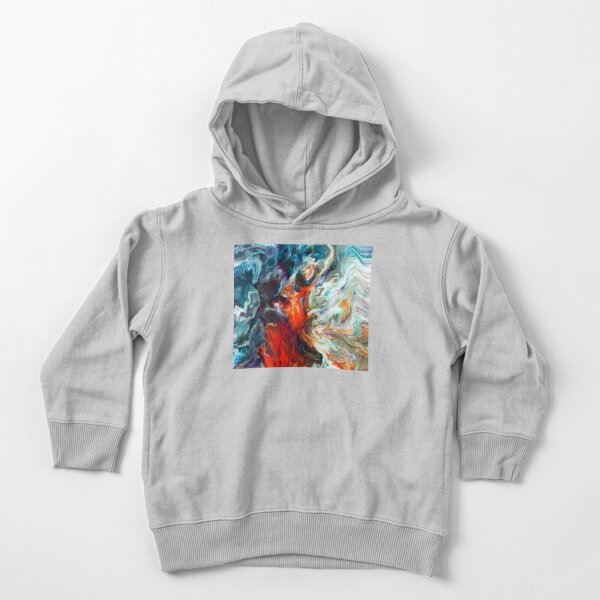 Fire And Water Toddler Pullover Hoodie