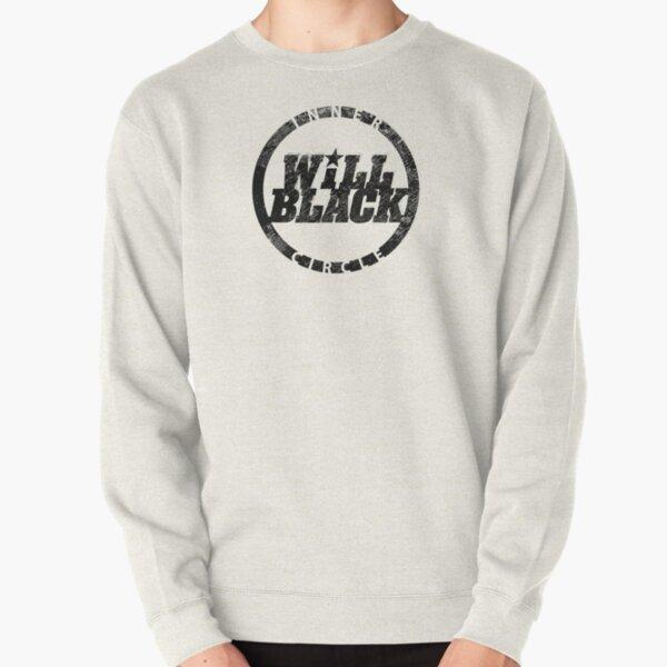 WB Inner Circle BLACK (center ice logo) Pullover Sweatshirt