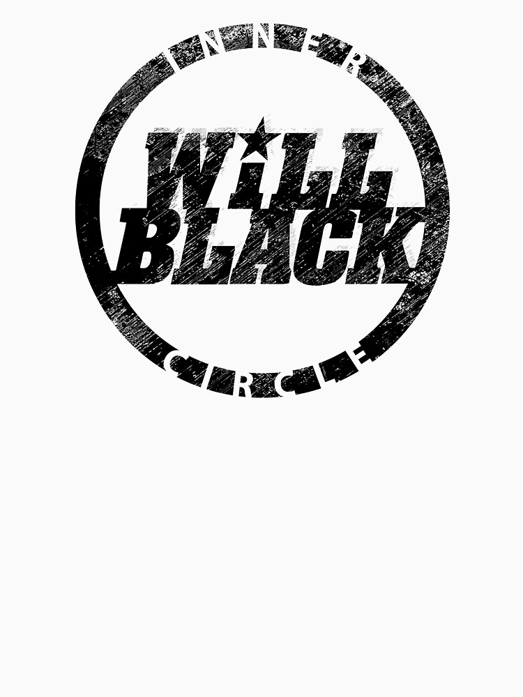 WB Inner Circle BLACK (center ice logo) by will-black