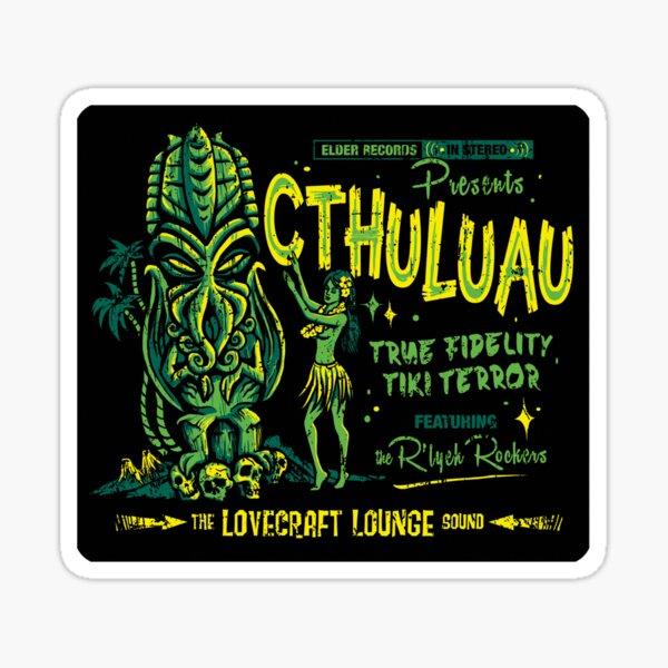 Cthuluau Sticker