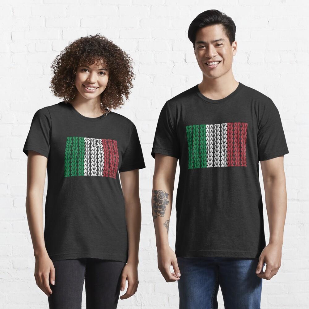 T-shirt essentiel «Italy Flag Mountainbike - Funny Bike Quote»