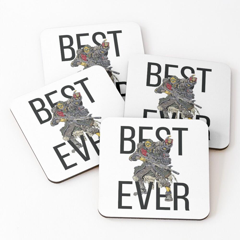 FL4K The Beastmaster Best Ever Borderlands 3 Rakk Attack! Coasters (Set of 4)