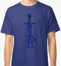 Robot Totem - BiLevel Blue Classic T-Shirt
